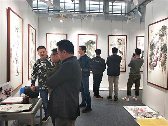个山美术馆惊艳亮相2018佛山艺博会